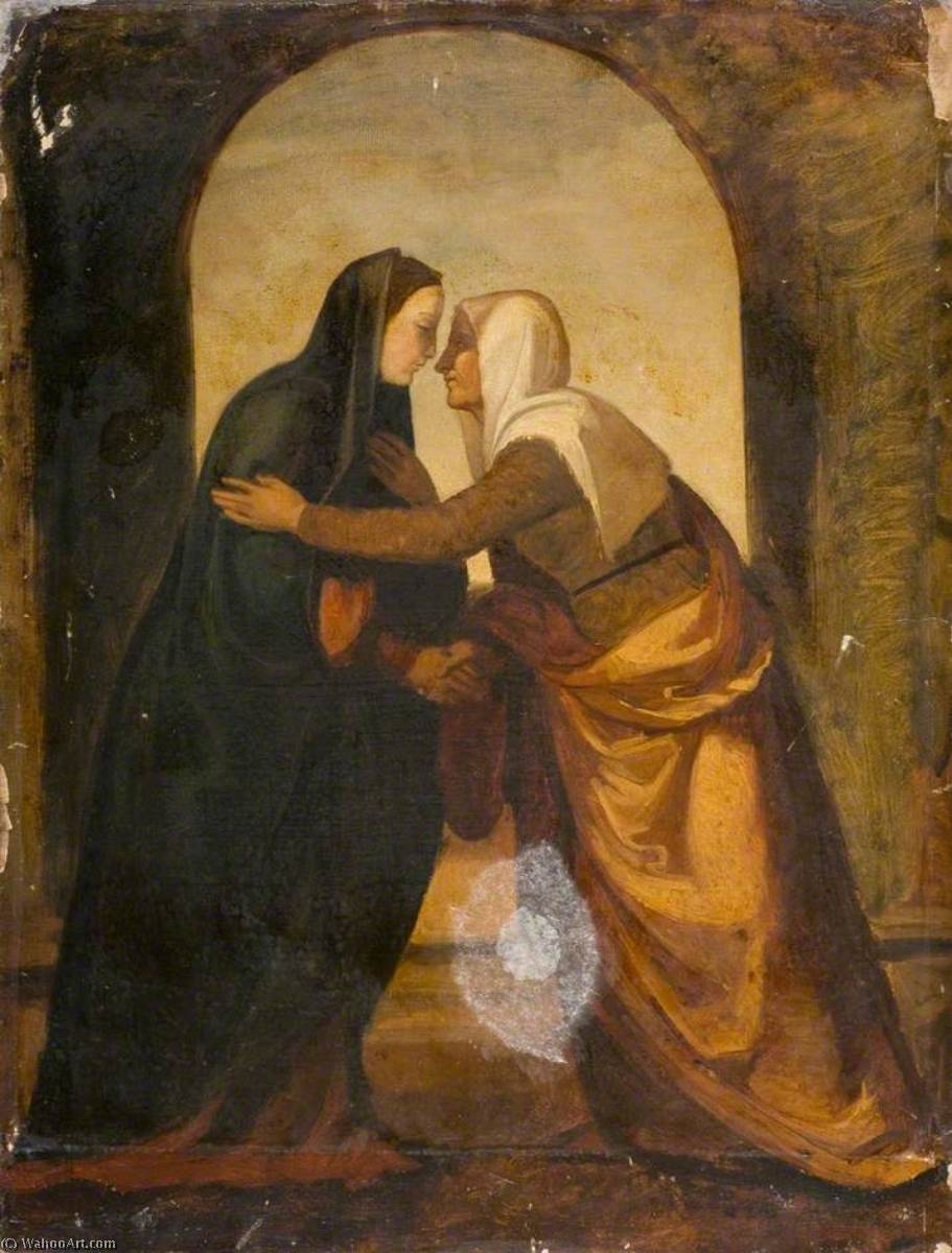 The Visitation (after Mariotto Albertinelli) by Joseph Severn | WahooArt.com