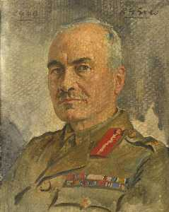 Reginald Grenville Eves - Lieutenant General Sir Ronald Forbes Adam (1885–1982), Bt, c.1940