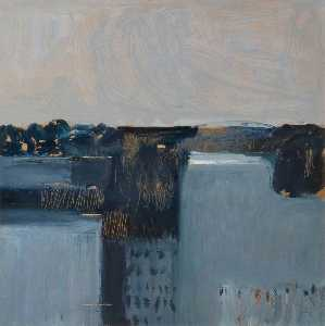 Colin Middleton - Crevinishaughey, Grey Morning, Co. Archdale