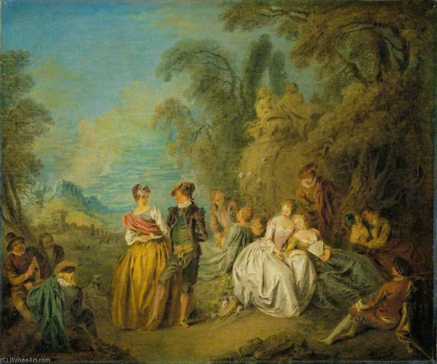 the life and works of jean baptiste pater View jean baptiste joseph pater biographical information, artworks upcoming at auction, and sale prices from our price archives.