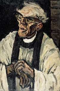 John Kyffin Williams - The Cleric