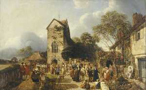 Henry Mark Anthony - An Old Country Churchyard