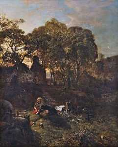Henry Mark Anthony - The Old Churchyard