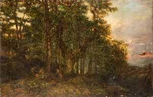 Henry Mark Anthony - A Larch Forest