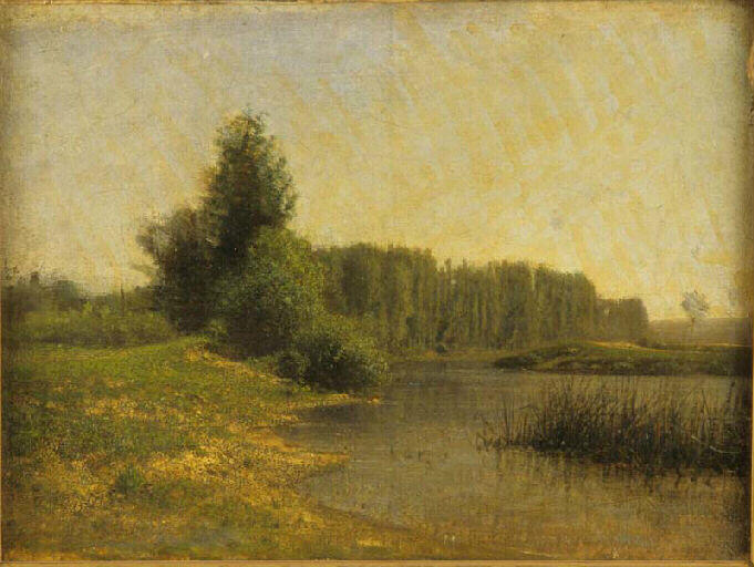 Paysage by Jean Alexis Achard (1807-1884) | Museum Quality Reproductions | WahooArt.com