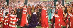 Christopher Williams - The Investiture of the Prince of Wales, 1911