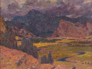 Christopher Williams - Storm over Cader Idris