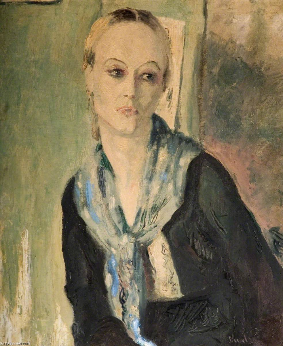 Eileen, Oil On Canvas by Ronald Ossory Dunlop (1894-1973, Ireland)
