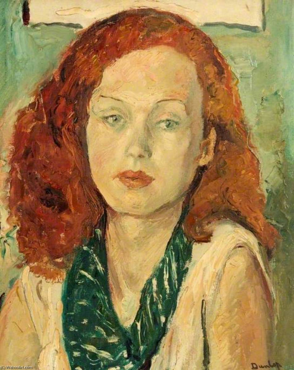 Nonny, Oil On Canvas by Ronald Ossory Dunlop (1894-1973, Ireland)