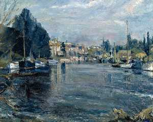 Ronald Ossory Dunlop - The Thames at Sunbury