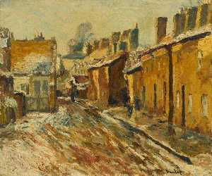 Ronald Ossory Dunlop - Snow at Stratford on Avon