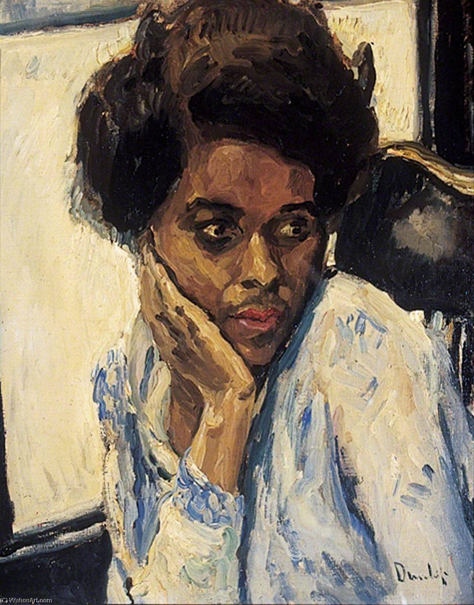 Melita, Oil On Canvas by Ronald Ossory Dunlop (1894-1973, Ireland)
