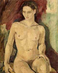 Ronald Ossory Dunlop - Nude