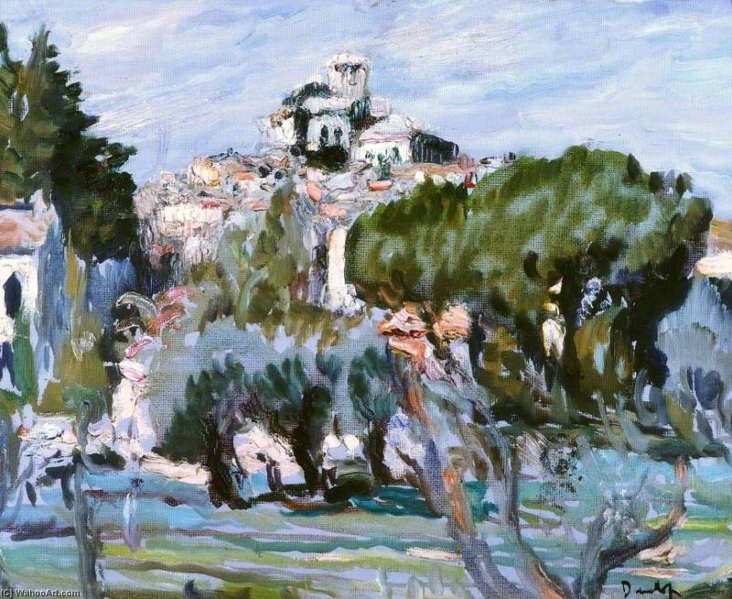 Order Painting Copy : South of France by Ronald Ossory Dunlop (1894-1973, Ireland) | WahooArt.com