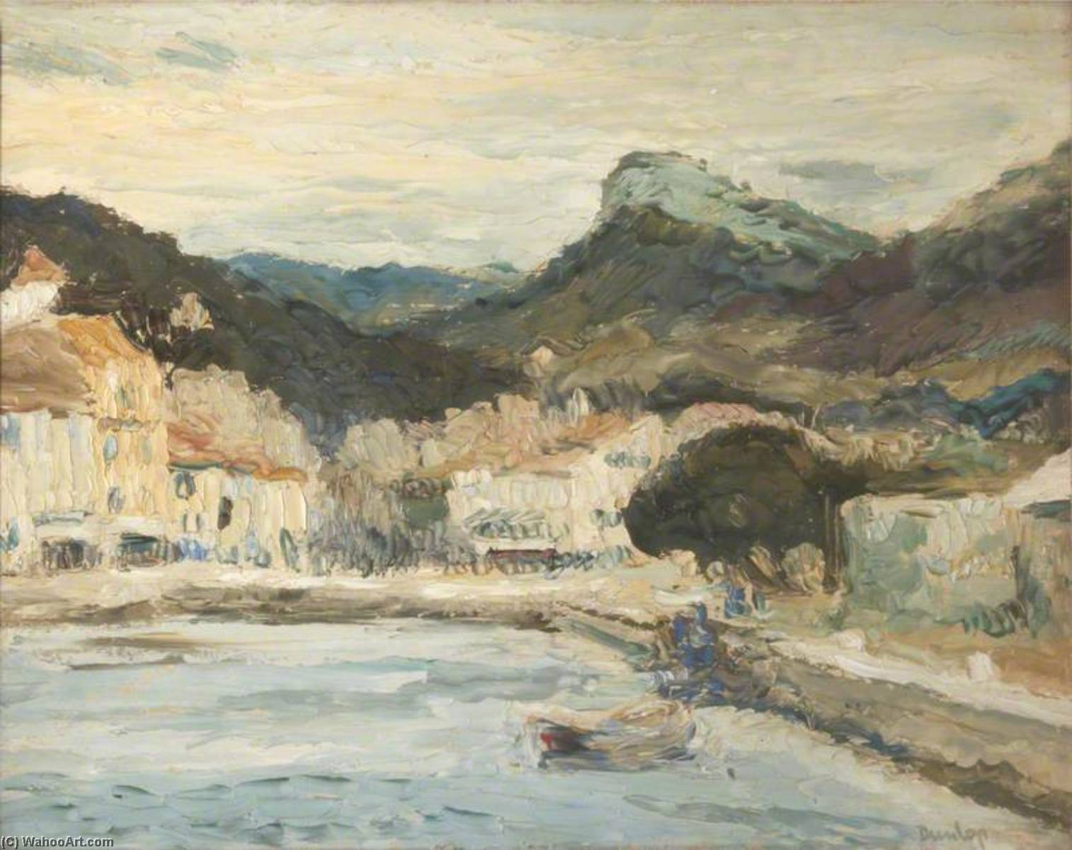 Cassis by Ronald Ossory Dunlop (1894-1973, Ireland) | Museum Quality Reproductions | WahooArt.com