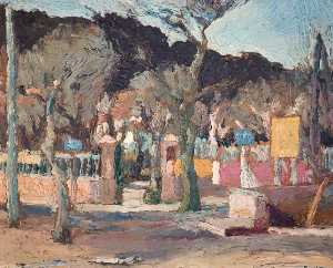 Ronald Ossory Dunlop - Near Cannes, France