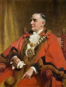 Frank O Salisbury - Alderman William Miles, CBE, JP, Mayor of Southend on Sea (1922–1924, 1936–1937 1939–1945)