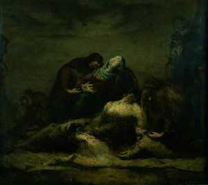 Théodule Augustin Ribot - The Deposition from the Cross