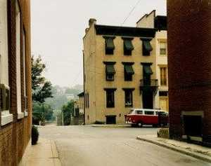 Stephen Shore - Church and 2nd Streets, Easton, Pennsylvania