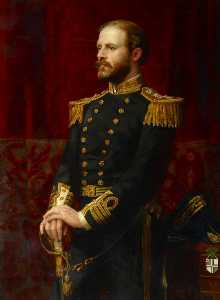 Anna Lea Merritt - Captain Sir Lambton Loraine (1838–1917), 11th Bt