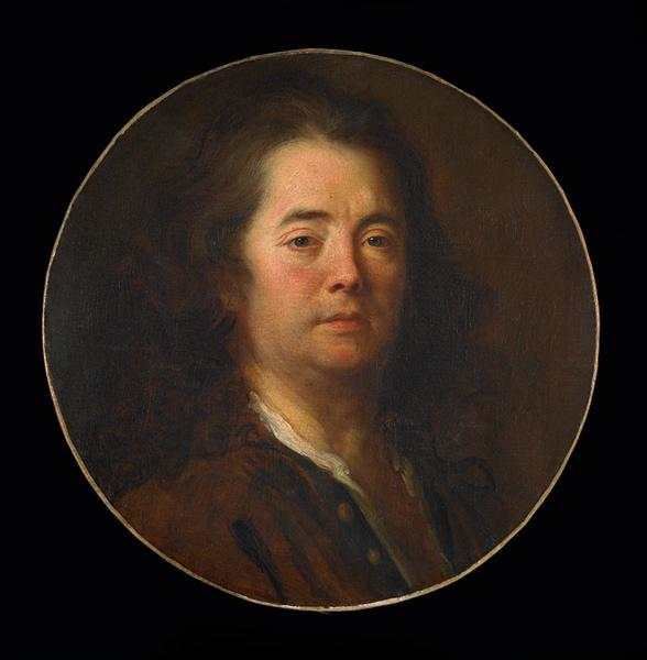 Autoportrait by Alexis Grimou (1678-1733, France) | Museum Quality Reproductions | WahooArt.com
