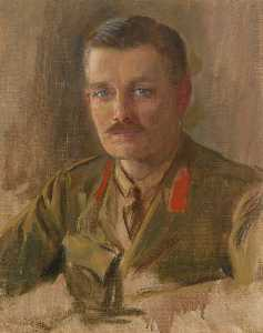 Herbert Arnould Olivier - Colonel Sir Hereward Wake (1876–1963), 13th Baronet, Member of Information Department (study related to 'The Supreme War Council in Session at Versailles on 3rd July 1918')