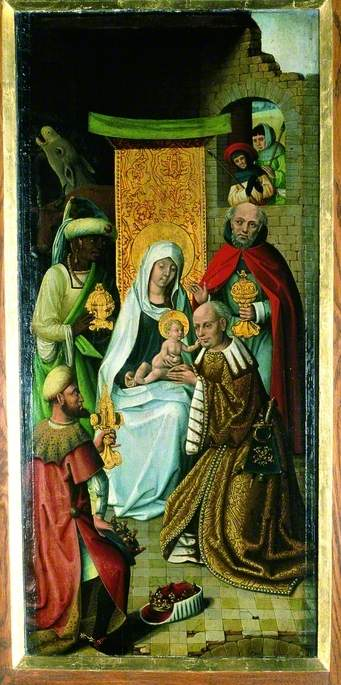The Adoration of the Magi (recto), 1470 by Master Of The View Of Saint Gudule | Art Reproduction | WahooArt.com