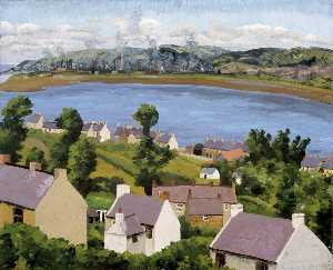 Cedric Lockwood Morris - Lougher from Penclawdd