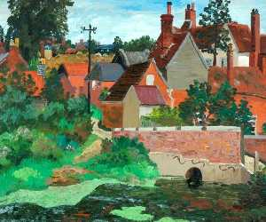 Cedric Lockwood Morris - Polstead, Suffolk