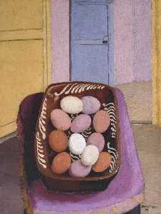 Cedric Lockwood Morris - The Eggs