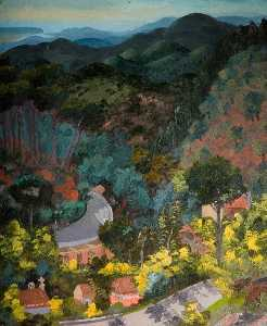 Cedric Lockwood Morris - Monchique Foothills, Algarve
