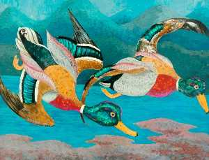 Cedric Lockwood Morris - Ducks