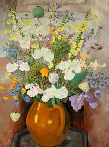 Cedric Lockwood Morris - Flowers