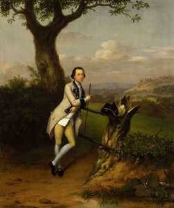 Arthur William Devis - Sir John van Hatten