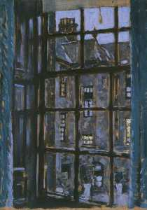 Stanley Cursiter - Window, Brunstane House