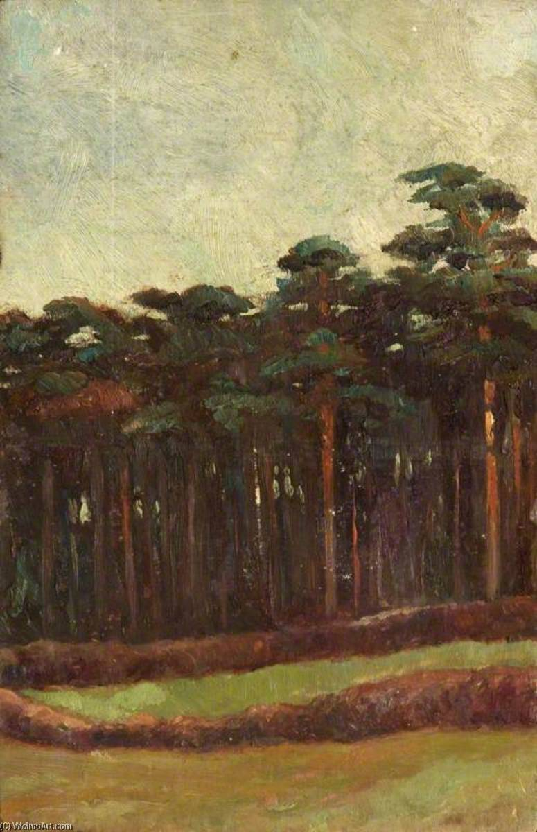 A Park at Yoxford, Oil by Charles Paget Wade (1883-1956, United Kingdom)