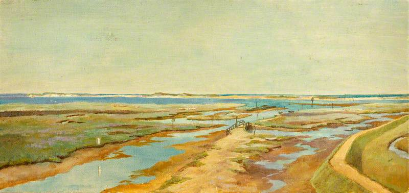 Cley next the Sea, 1909 by Charles Paget Wade (1883-1956, United Kingdom) | WahooArt.com