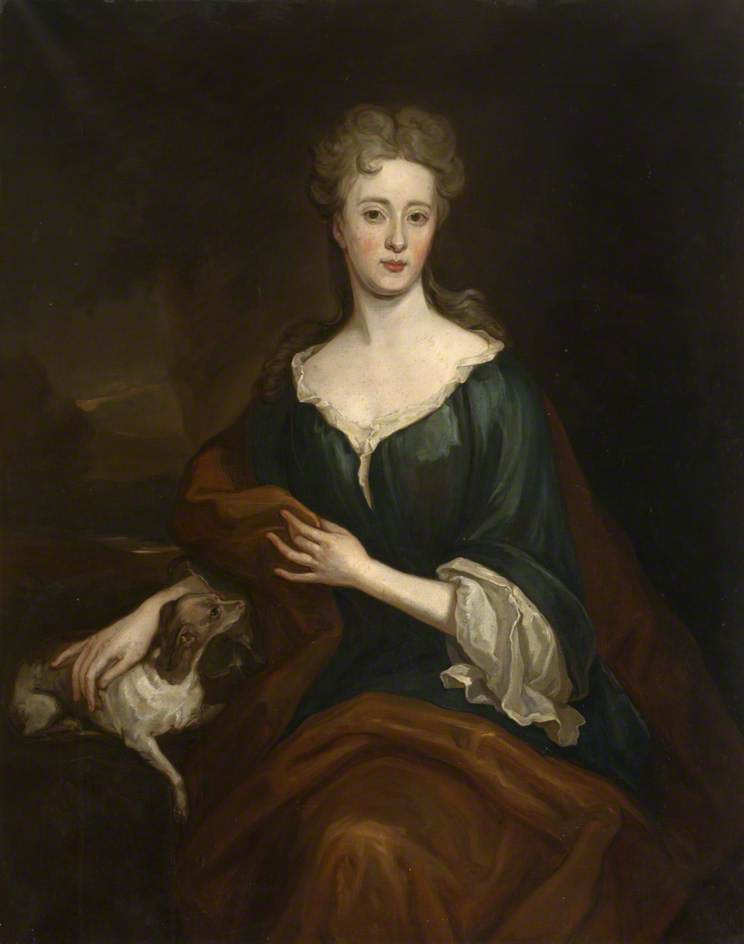 Lady Winifred Herbert (c.1680–1749), Countess of Nithsdale, Oil On Canvas by John Baptist De Medina