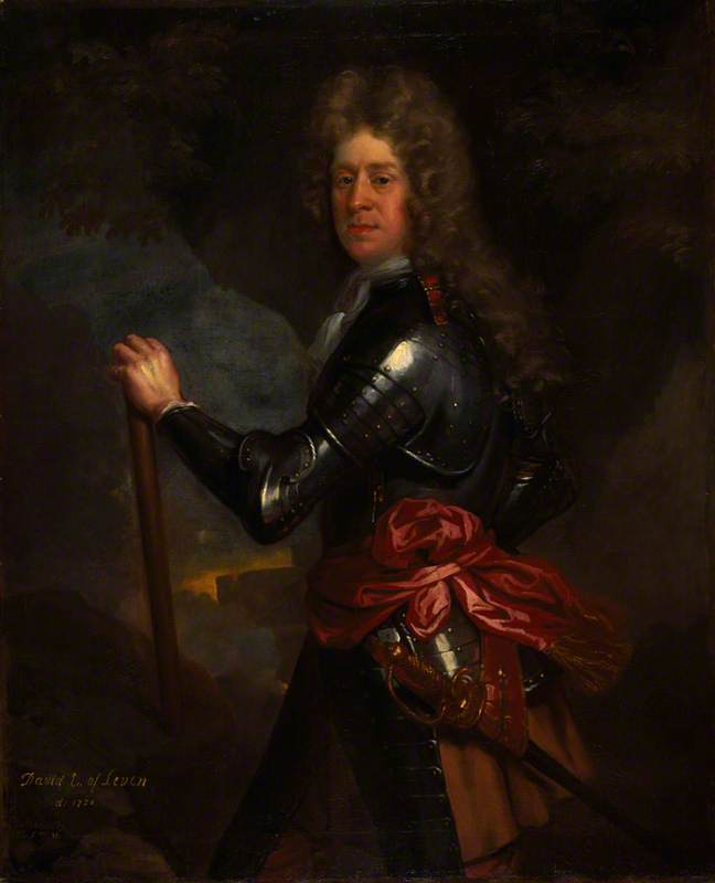 David Melville (1660–1728), 3rd Earl of Leven, Statesman and Soldier, 1691 by John Baptist De Medina | Oil Painting | WahooArt.com