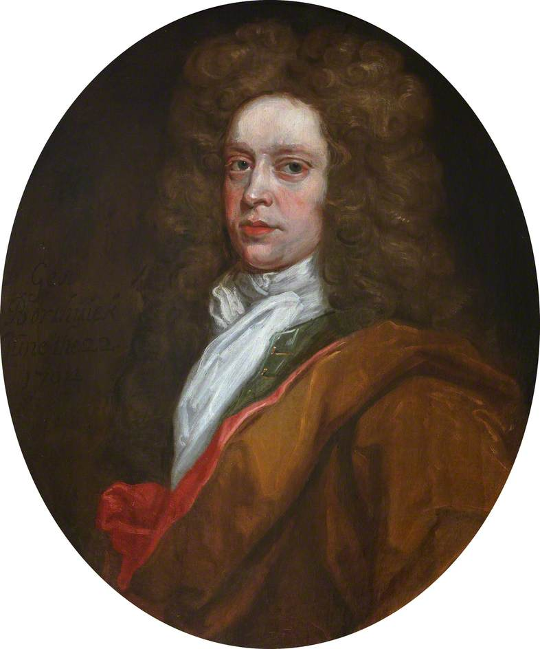 George Borthwick (d.1716), FRCSEd (1704), Oil On Canvas by John Baptist De Medina