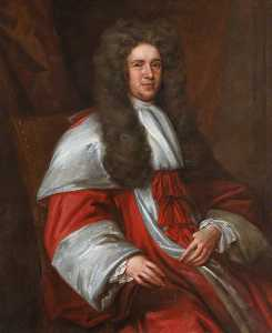 John Baptist De Medina - Sir William Hamilton (d.1704), Lord Whytelaw, Hon. FRCSEd (1700)