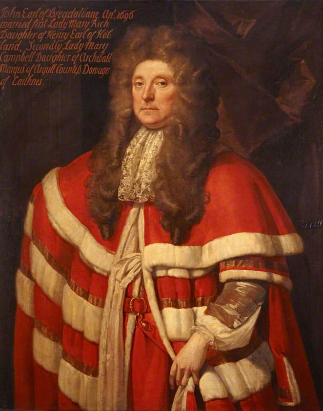 John Campbell (1635–1716), 1st Earl of Breadalbane, Soldier and Statesman by John Baptist De Medina | Famous Paintings Reproductions | WahooArt.com