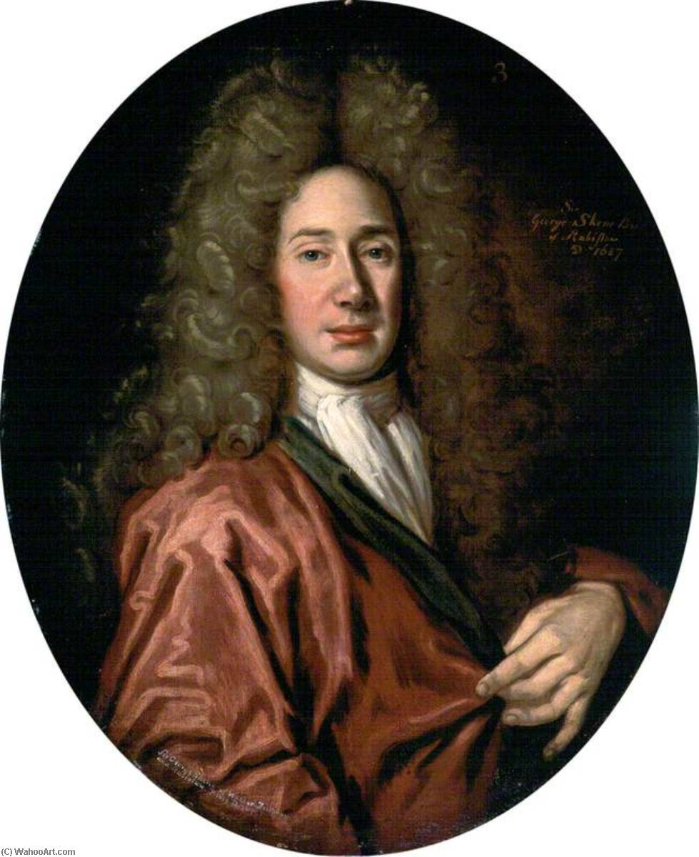 Sir George Skene of Wester Fintray and Rubislaw, Provost of Aberdeen (1676–1685), Oil On Canvas by John Baptist De Medina