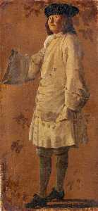 Luca Carlevaris - A Gentleman Wearing a White Coat