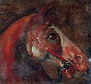 Luca Carlevaris - Study of a Horse's Head
