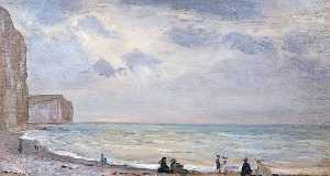 Walter Westley Russell - The Beach at Dover
