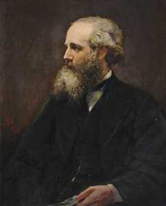 Lowes Cato Dickinson - James Clerk Maxwell (1831–1879), Fellow, Physicist