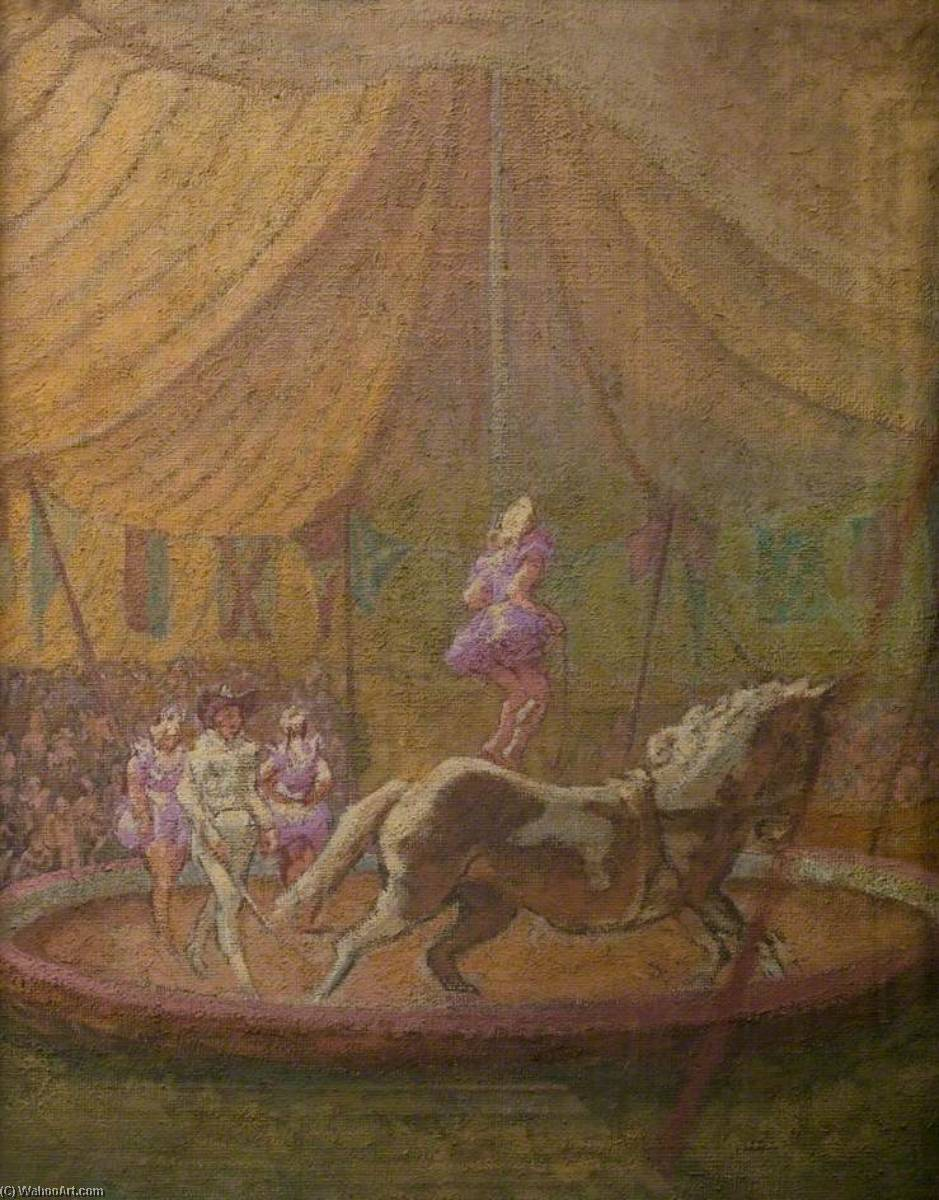 Circus at Bath by Thérèse Lessore | Painting Copy | WahooArt.com