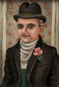 Richard Ernst Eurich - Portrait of a Gentleman