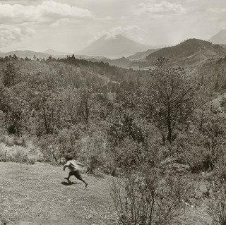 Running Boy, Guatemala, Print by Rosalind Fox Solomon
